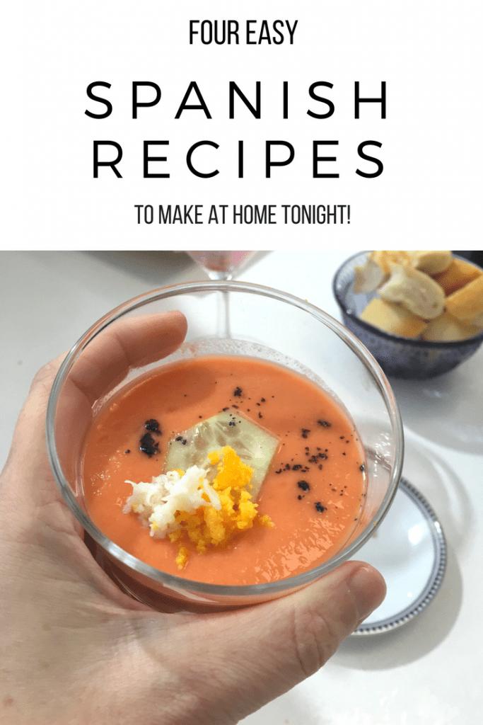 4 Easy Spanish Recipes to Make at Home Tonight
