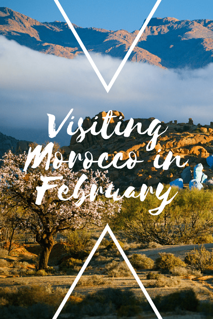 Visiting Morocco in February 1