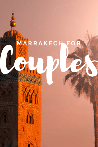 Where to Stay in Marrakech for couples