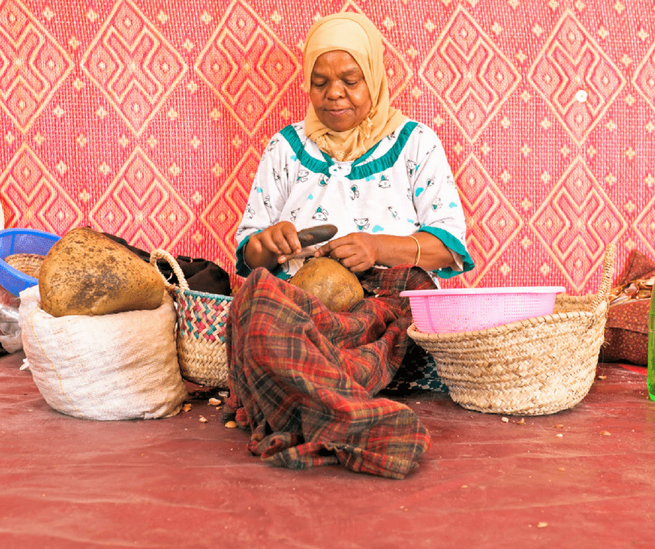 Making Argan Morocco in October