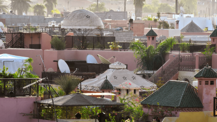 Where is the best area to stay in Marrakech?