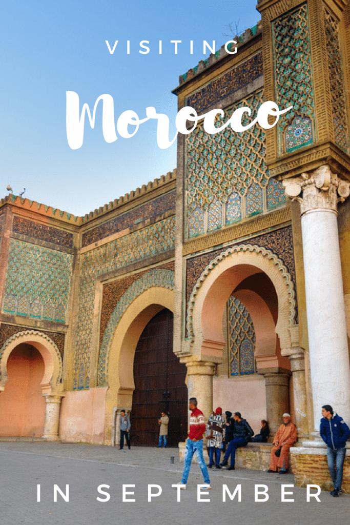 Visiting Morocco in September