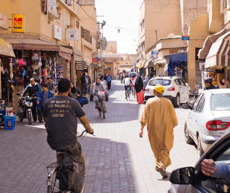Visiting Taroudant Morocco