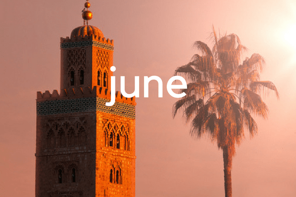 Visiting Morocco in June