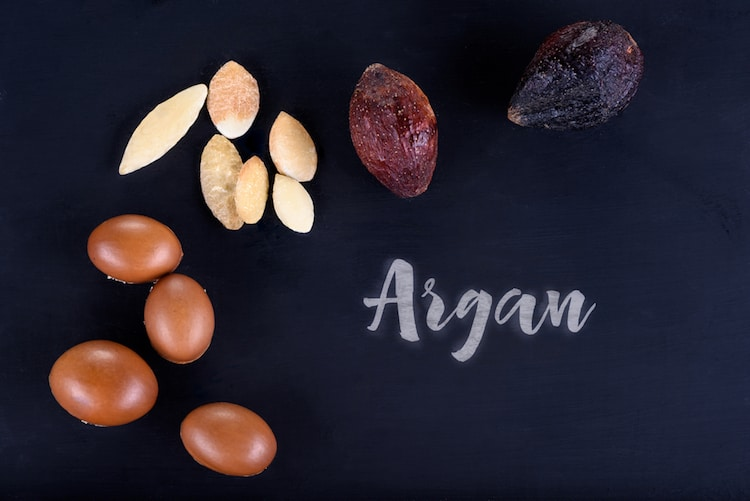 Using argan oil on your face