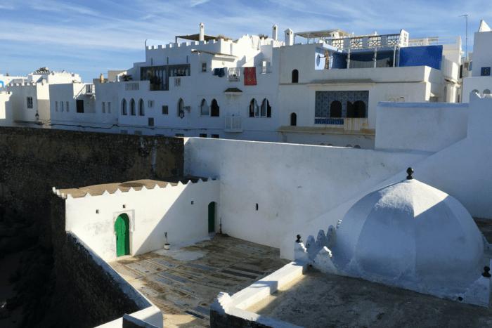 Asilah Morocco Skyline