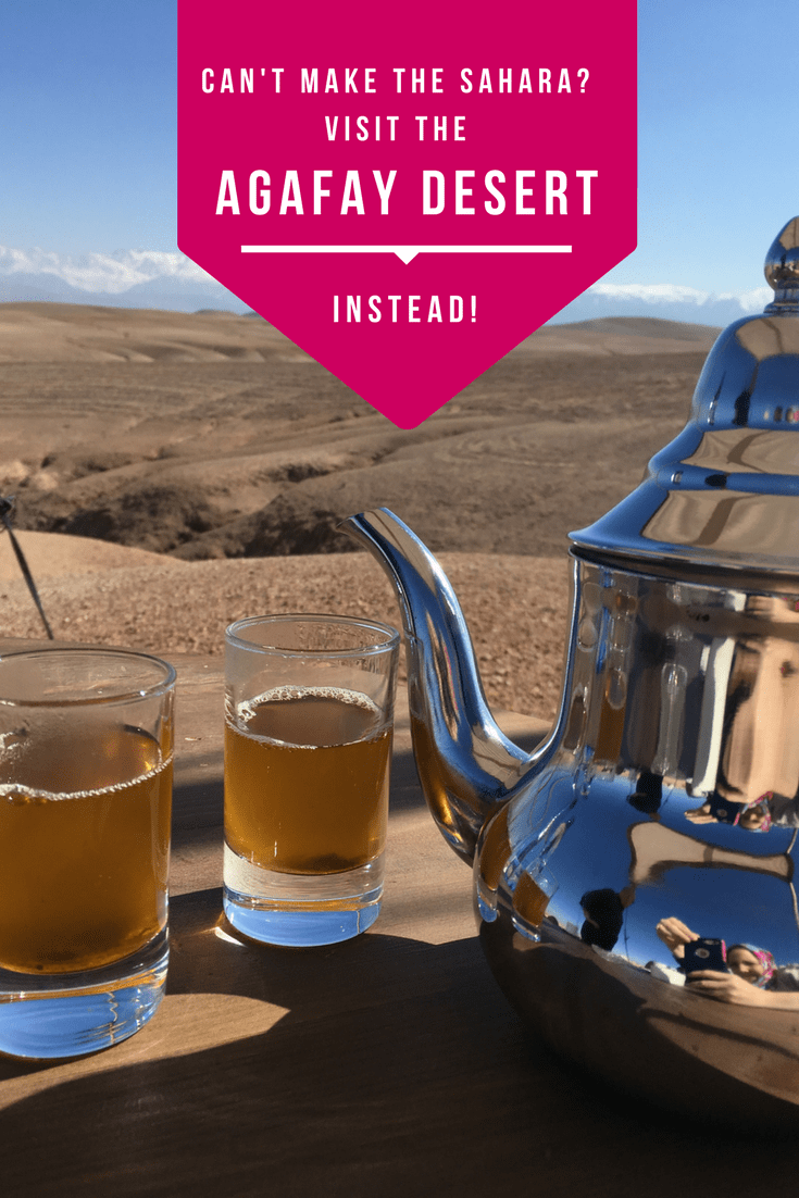 Most visitors to Morocco know about Sahara desert trips however it's not always practical to make this journey. Instead choose an Agafay desert trip from Marrakech for a similar experience with a lot less road time!