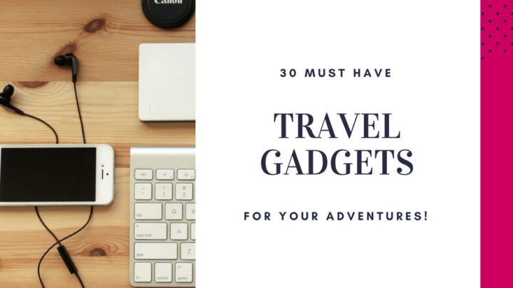 Cool Tech Travel Gadgets You'll Want to Pack!