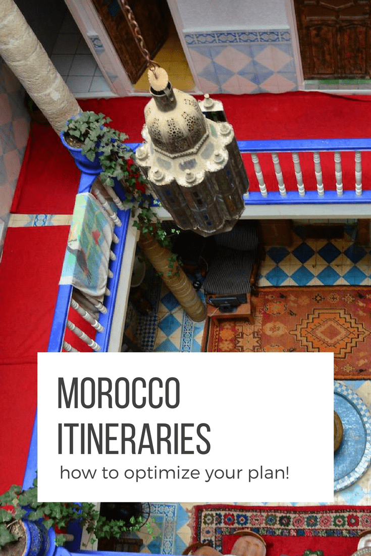 Sure you want to see everything when you visit Morocco but it's not possible. How can you make the best use of your time? Use this guide to help break it down.
