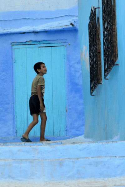 Young Boy in Chefchaouan