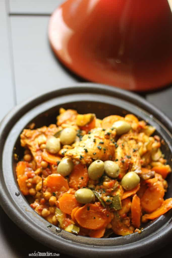 Moroccan Chicken Tagine from Modest Munchies