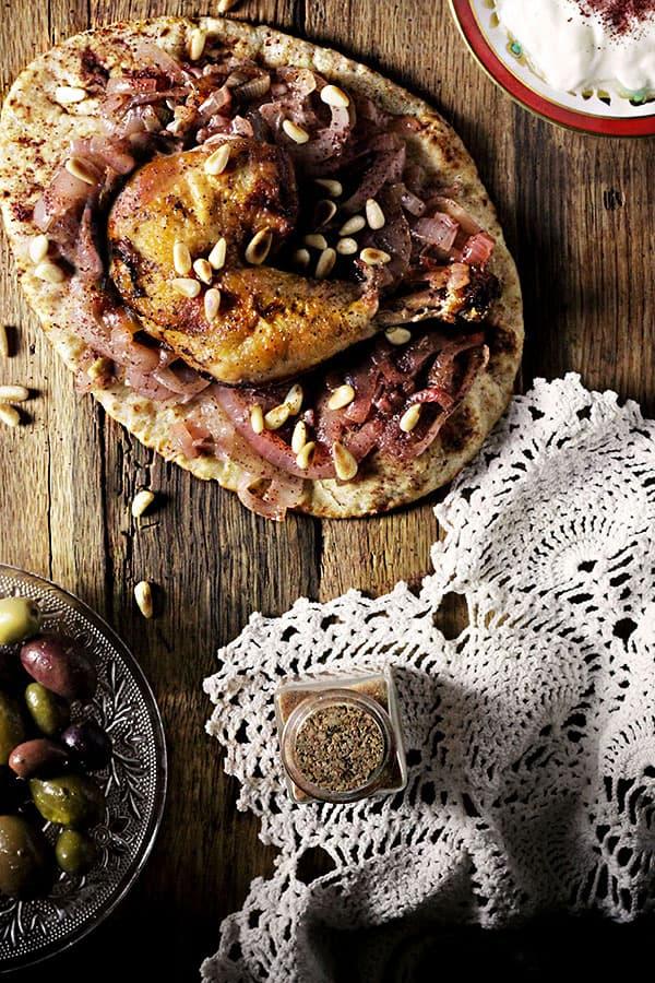 10 arabic chicken recipes for dinner tonight marocmama palestinian musakhan forumfinder Gallery