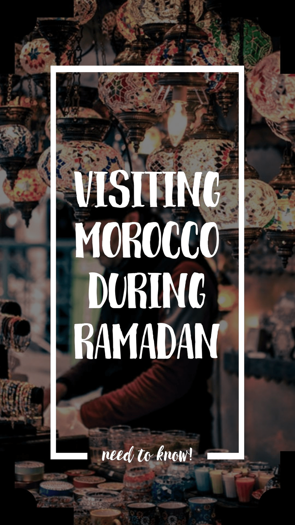 If you're visiting #Morocco during #Ramadan, there are a few important things to keep in mind to make the most of your visit.