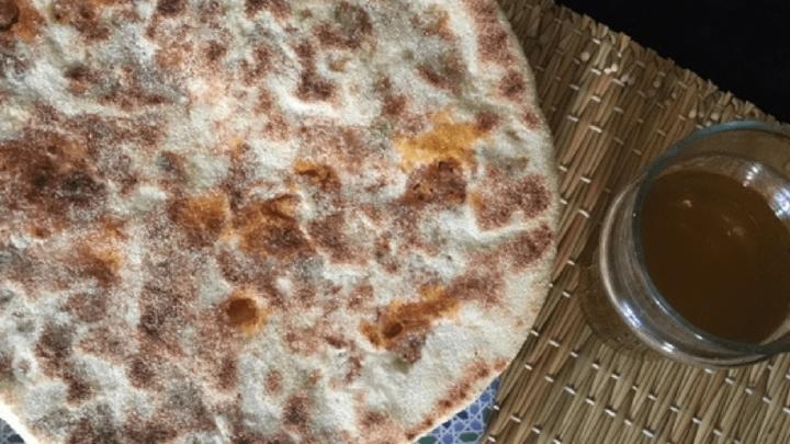 Berber Pizza {Rghaif Shema}