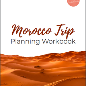 Morocco Trip Planning Workbook
