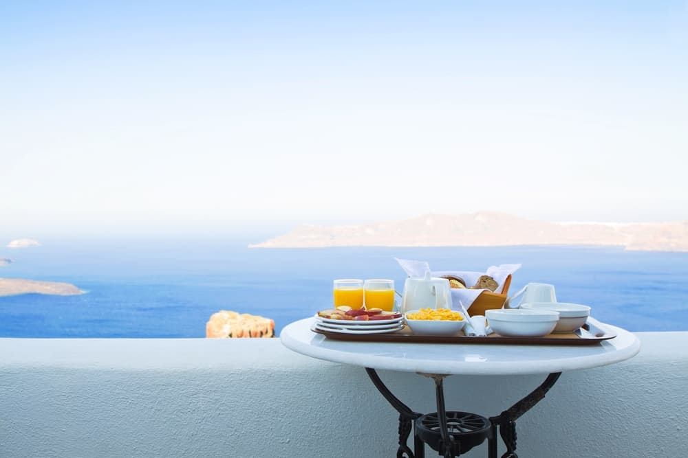 Breakfast View Tamouda Bay