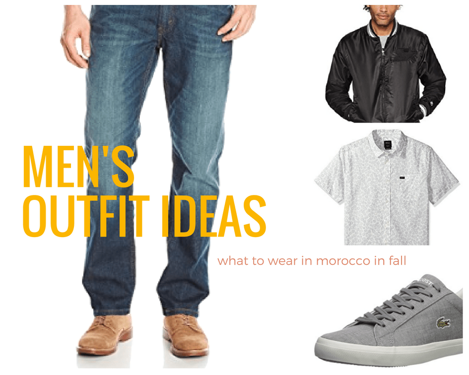 Men's Outfit Ideas for Fall in Morocco