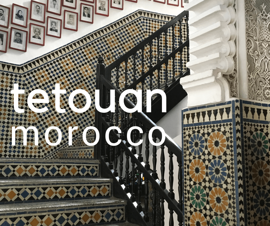 Tetouan, Morocco is for Art Lovers