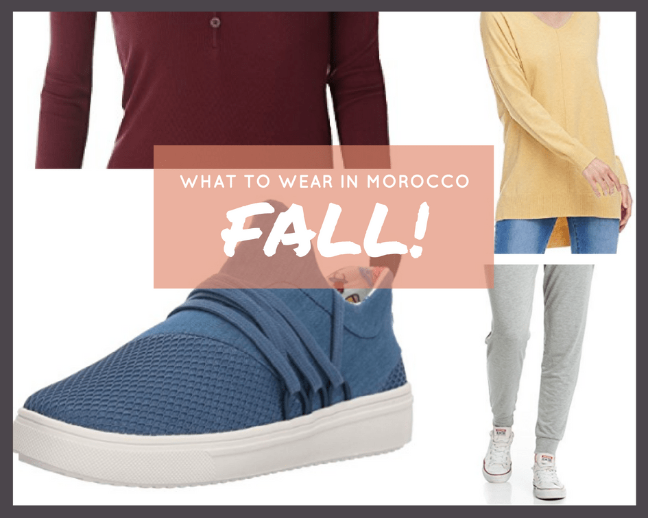 What to wear in Morocco in Fall Outfit Idea 2