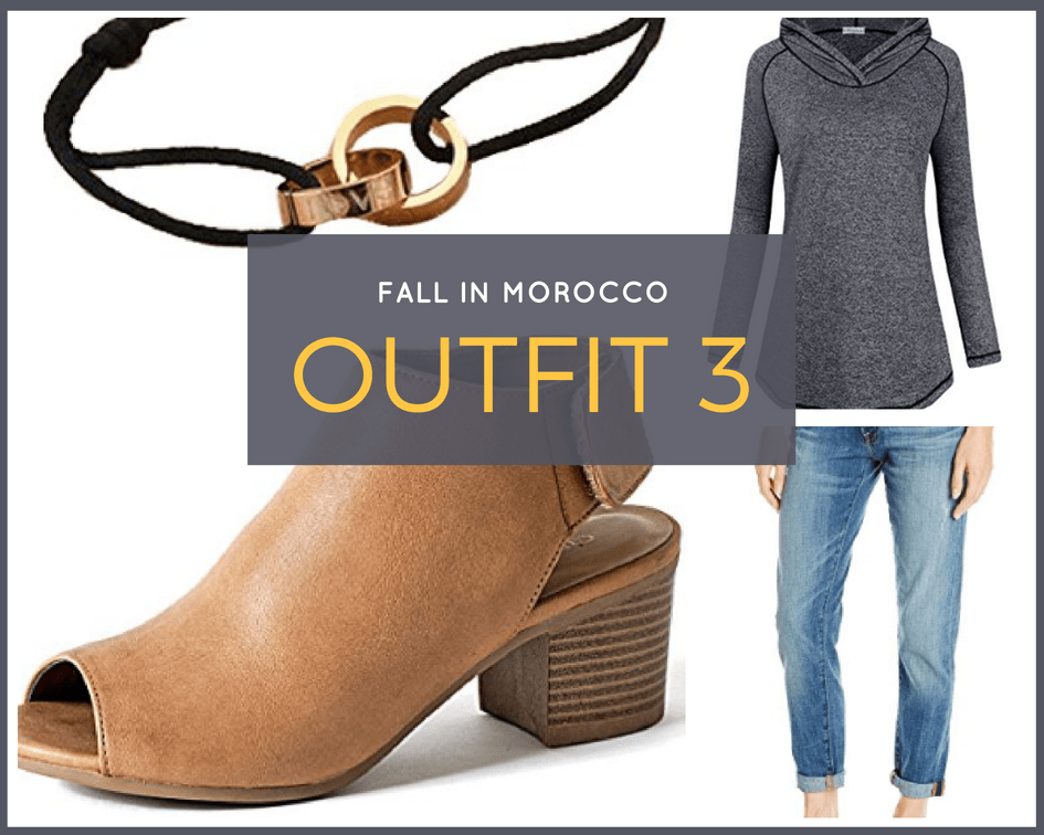 What to wear in Morocco in Fall Outfit Idea 3