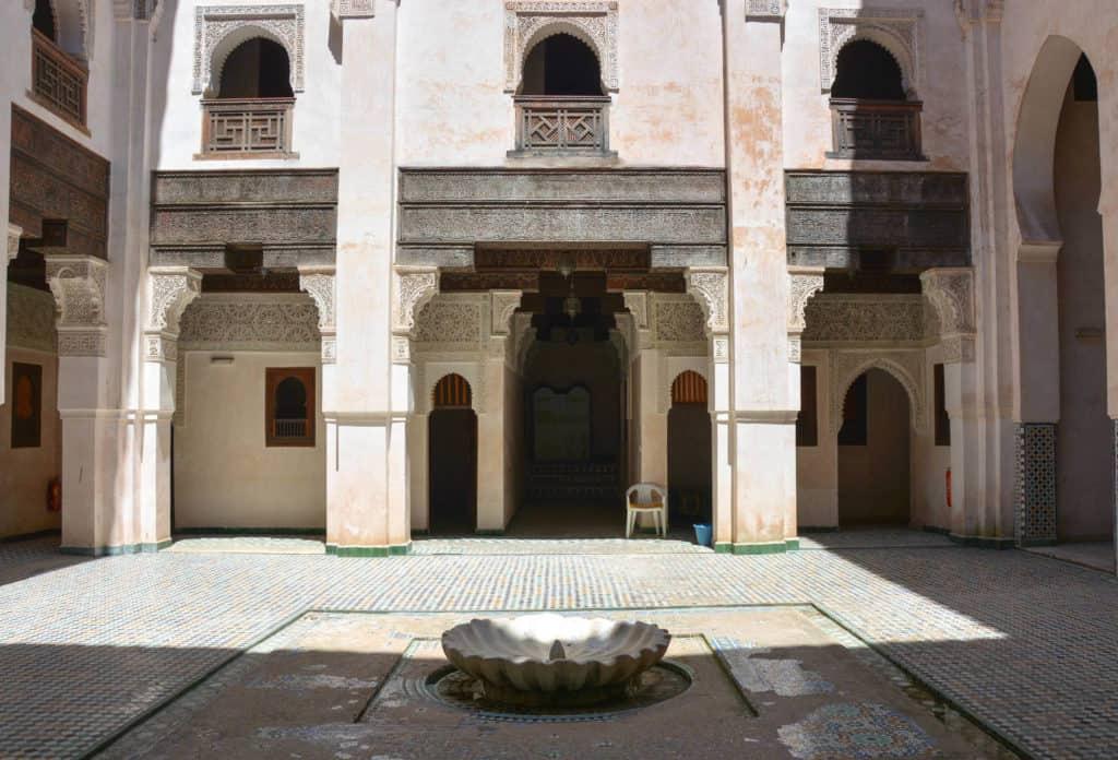 Cherratin Madrasa in Fez Morocco