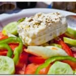 Greek Salad in Crete