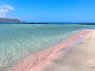 Elafonisi pink beach Crete