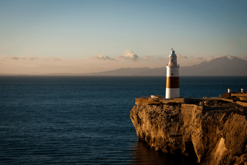 Lighthouse in Tangier Morocco