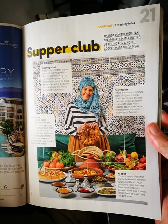 MarocMama in Thomas Cook Magazine