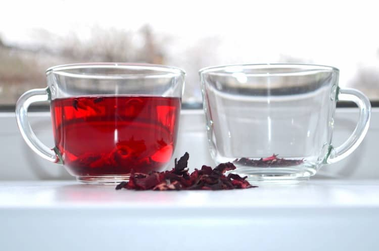 Egyptian Hibiscus Tea