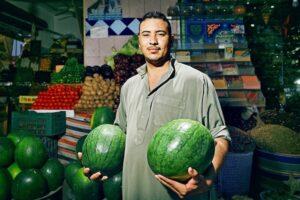 Egyptian Market Seller