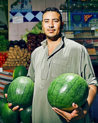 Egyptian Market Seller