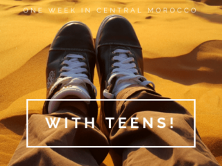One Week Morocco Itinerary with Teens