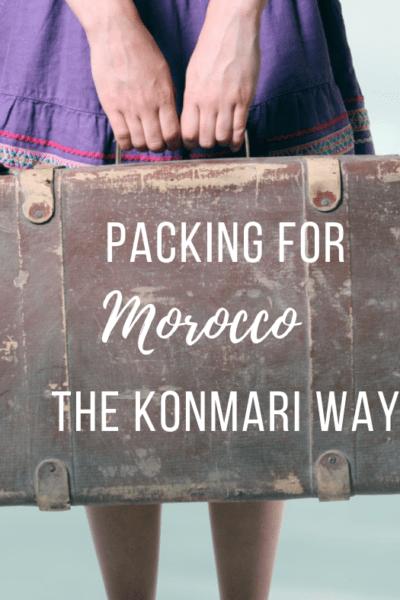 How to Pack the Konmari Way