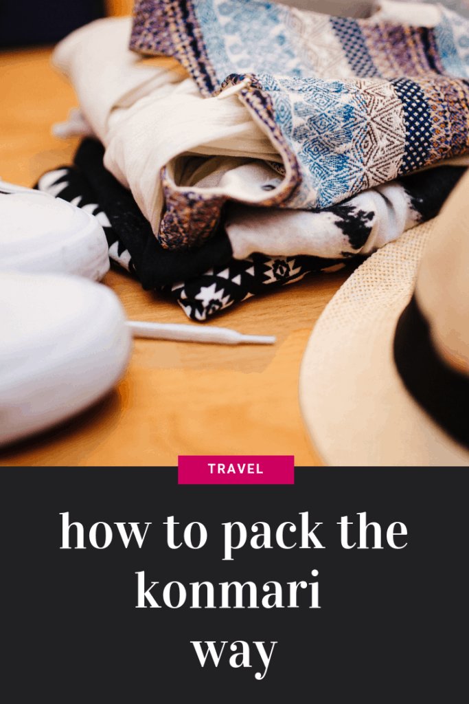 How to Pack for Morocco using the Konmari Method