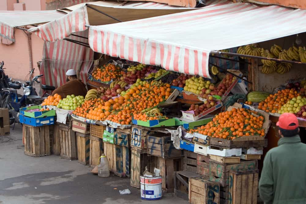 Drink lots of Vitamin C to fight off germs in Morocco