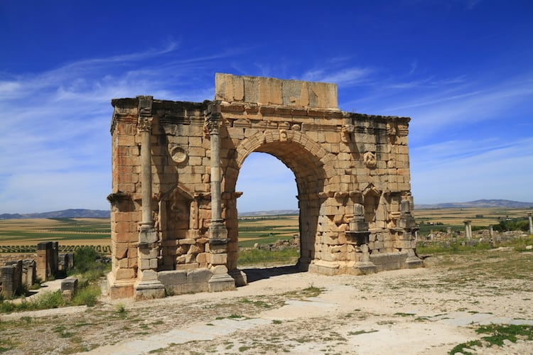 Things to see in Volubilis Morocco