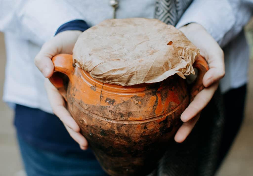 Tangia pot in Marrakech