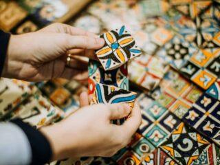 Tiles in Marrakech
