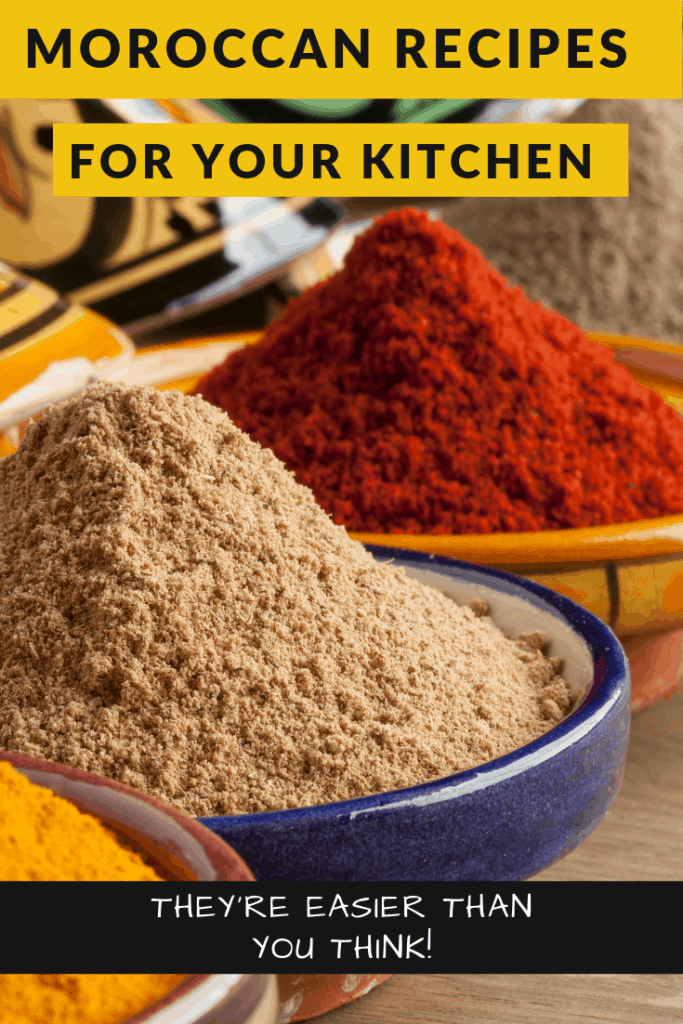 Discover Moroccan recipes that are easier to make than you might think!