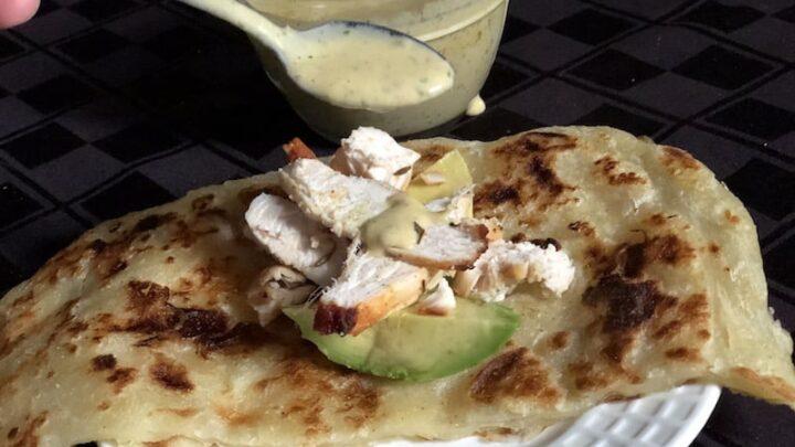 Chicken Arabian Taco Recipe