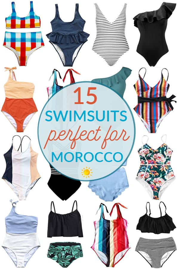 15 Fun Swimsuits and Coverups for Morocco