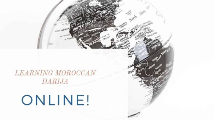 Resources for Learning Moroccan Arabic Online