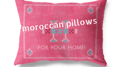 9 Moroccan Pillows Perfect for Your Couch!