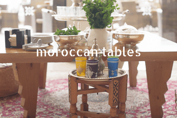 11 Moroccan Tables to Add North African Ambiance to Your Home