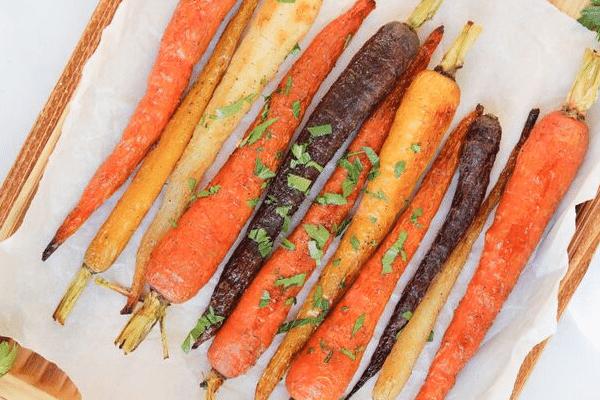 Ras al Hanout Roasted Carrots