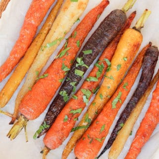 Ras al Hanout Roasted Carrots