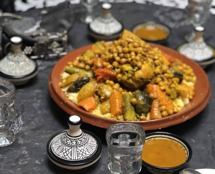Chicken Couscous Marocmama