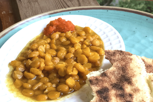An Easy Recipe for Moroccan Chickpeas (Hommos)