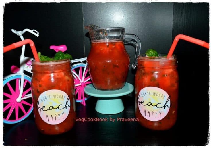 Watermelon – Basil Refresher